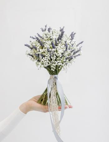 Свадебный букет из лаванды PROVENCE