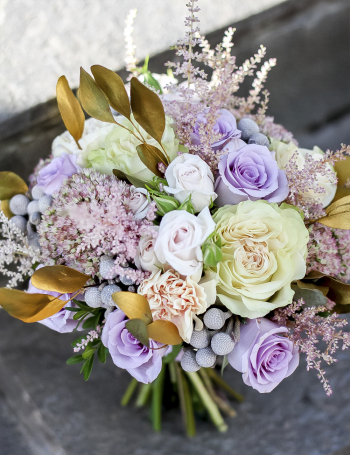 Букет невесты GOLD